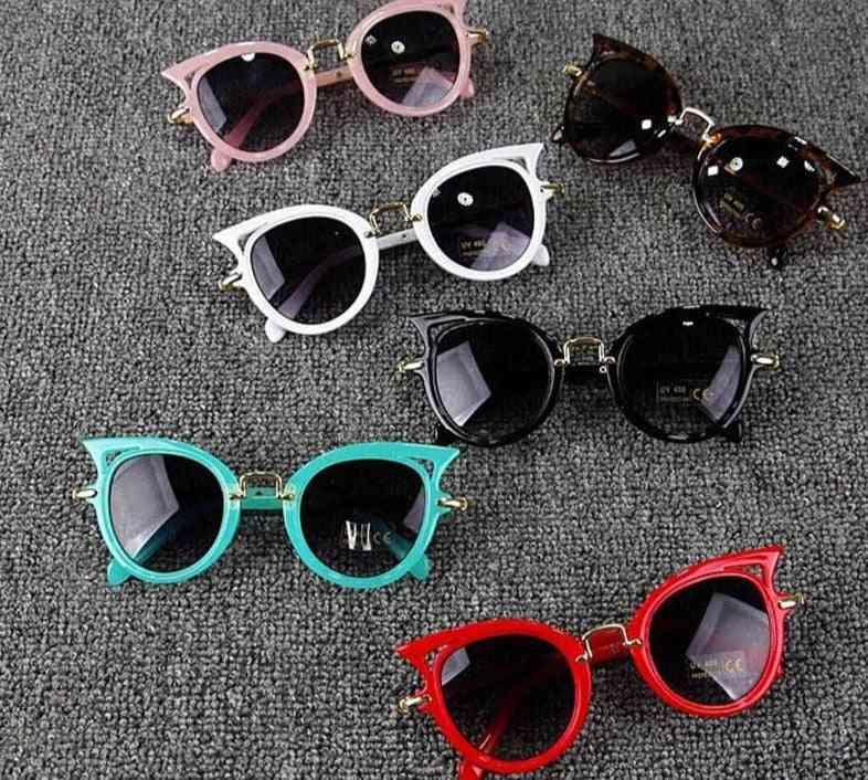 Kids Vintage Stylish Cat Eye, Sunglasses Eyewear