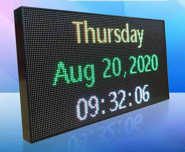 Full Color Displaying, Scrolling Message And Programmable Led Banner