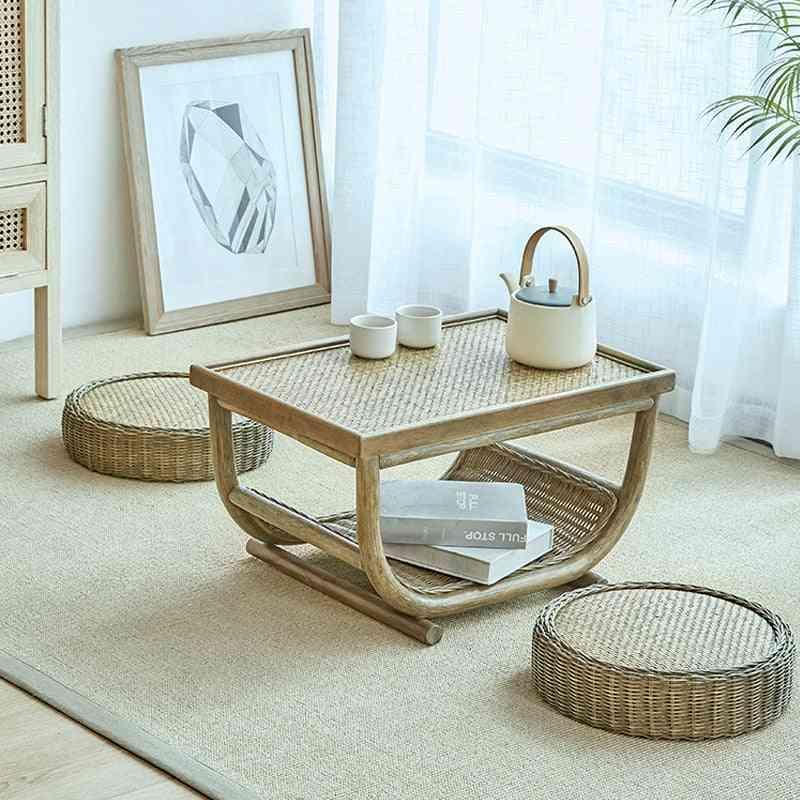 Handmade Rattan Furniture, Coffee Table Set