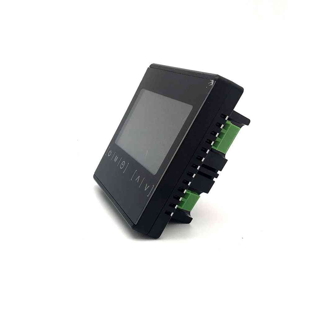 Touch Screen, Lcd Display, Warm Electric Floor Heating, Room Thermostat