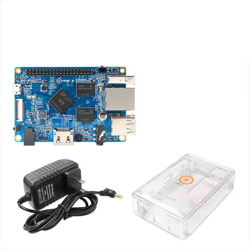 Pi Pc- Transparent Case, Power Supply, Open Source, Single Board