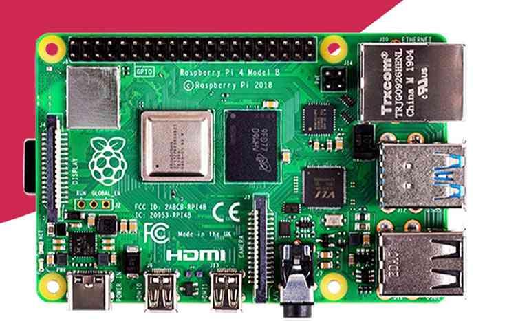 Pi-4 Model B, Quad Core, Cortex-a72/ Arm, Support Wifi & Bluetooth