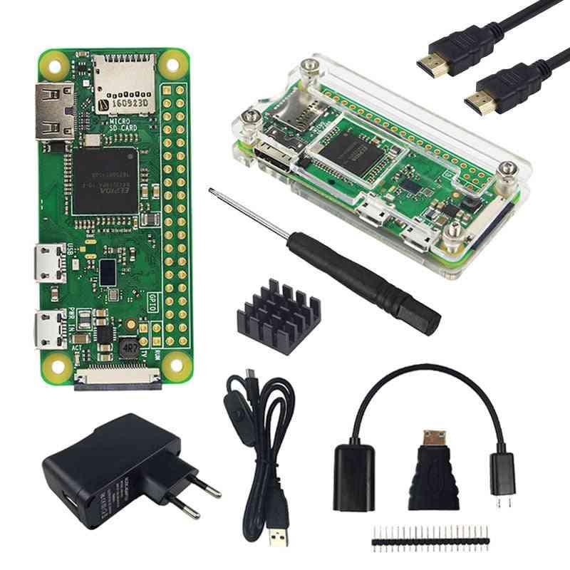 Pi Acrylic Case & Sd Card, Touchscreen Camera, Rj45 Network Card, Hdmi Cable