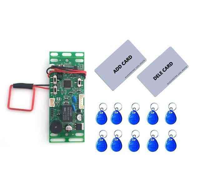 Rfid Em / Id Embedded Door Intercom Access, Lift Control With Mother Card Key Fob