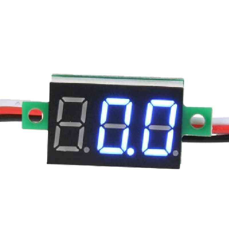Mini Digital Voltmeter With Reverse Polarity Protection
