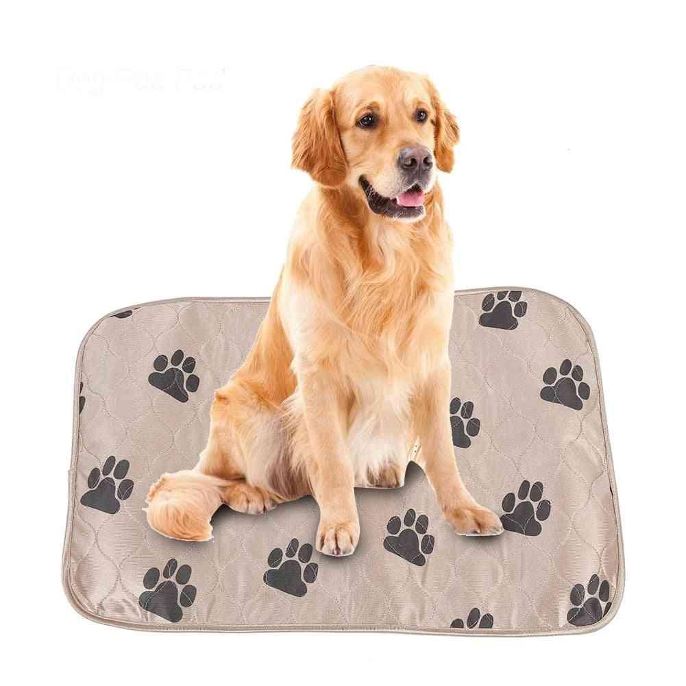 Reusable Waterproof Dog Pee Pad, Bed Urine Mat For Pet Cats
