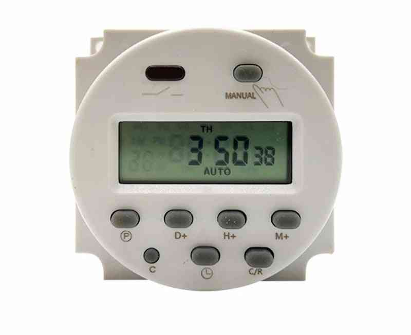 Digital Lcd Electronic Timer, Cycle Countdown Time Control Switch