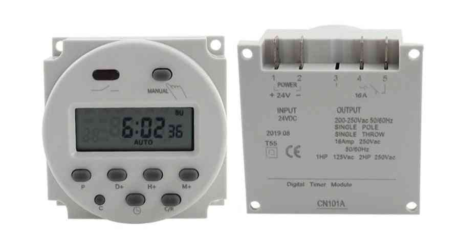Lcd Timer Switch, Time Relay Street Lamp, Billboard Power Supply Without Waterproof Box