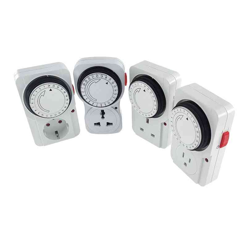 Universal Timing Socket Mechanical Timer Switch Outlet