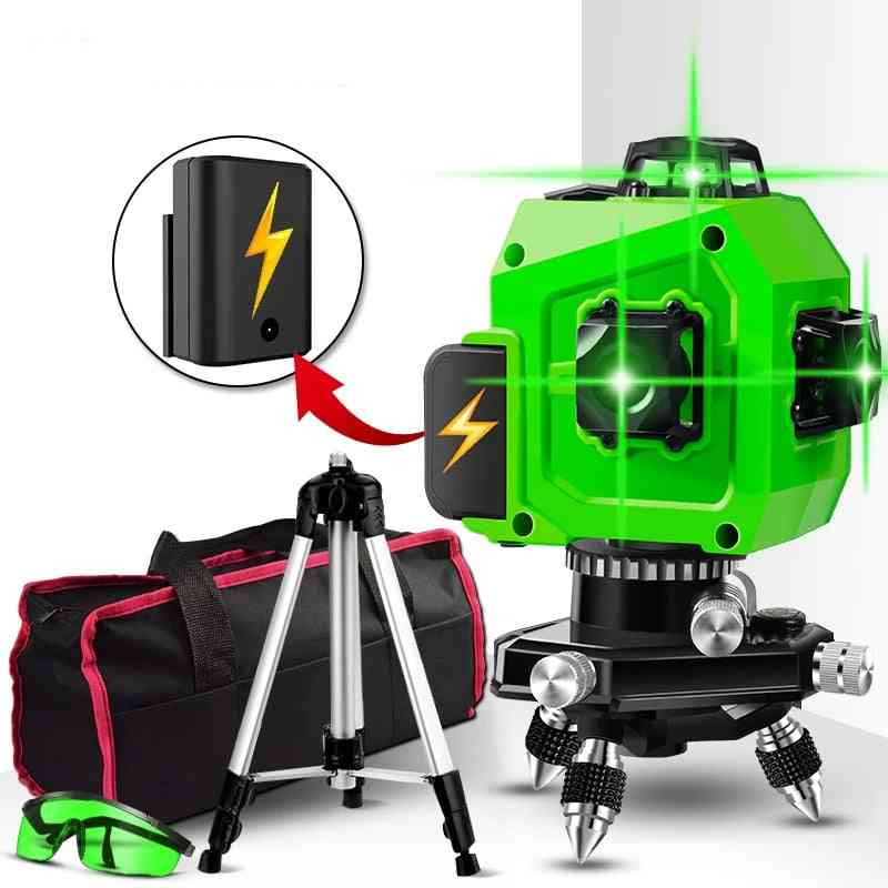 360 Horizontal And Vertical Cross Super Powerful Green Laser Level