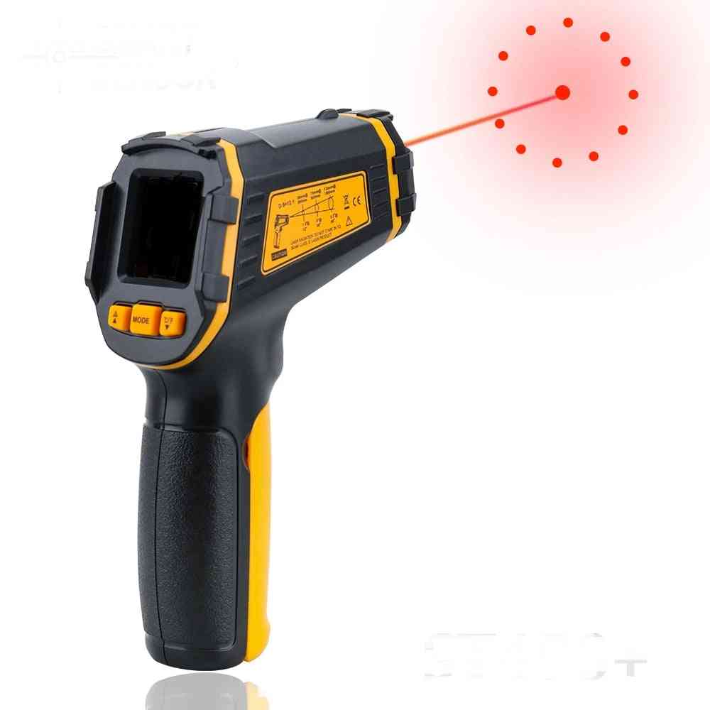 Non Contact Laser Ir Temperature Lcd Display Gun Pyrometer Tester, Thermometer