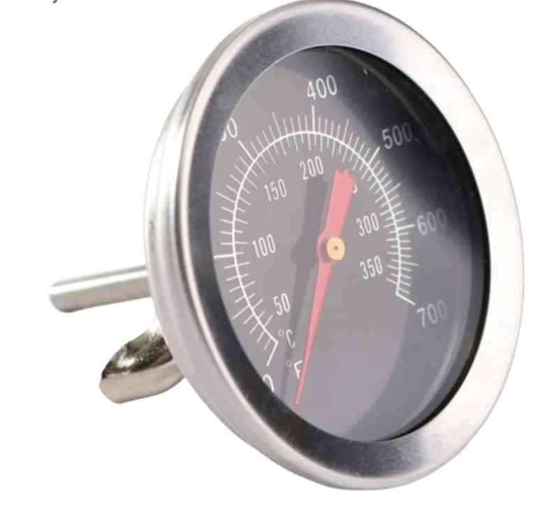 Grill Meat Thermometer Dial, Temperature Gauge, Cooking Food Probe Tools