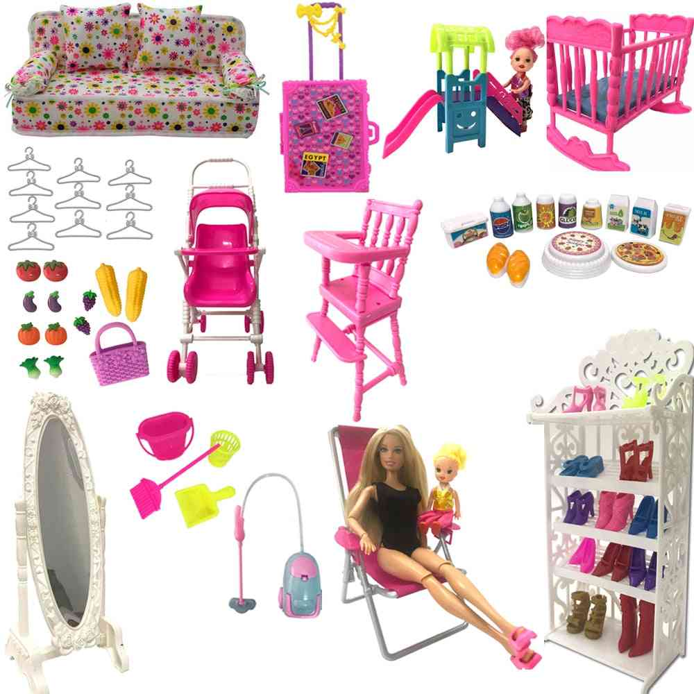 Nk Mix Style Doll & Furniture Play Toy