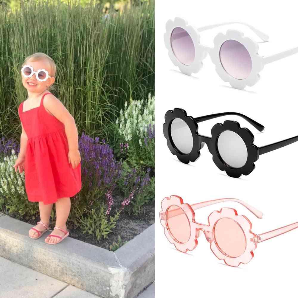 Round Flower Gafas Sport Sunglasses For &