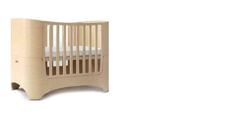 Multifunction- White Ash, Solid Wood, Sleep Crib, Lengthen Bed For Baby