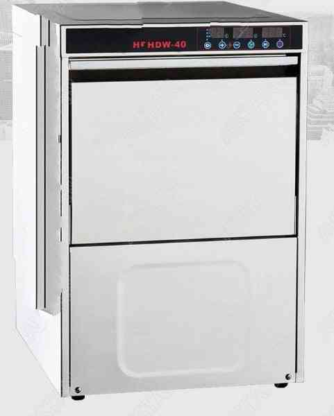 Electric Automatic, Front Door Dishwasher, Washing Machine With Baskets