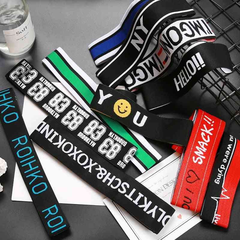 Sports Hairband, Hip-hop Men's Street Trendy Headbands