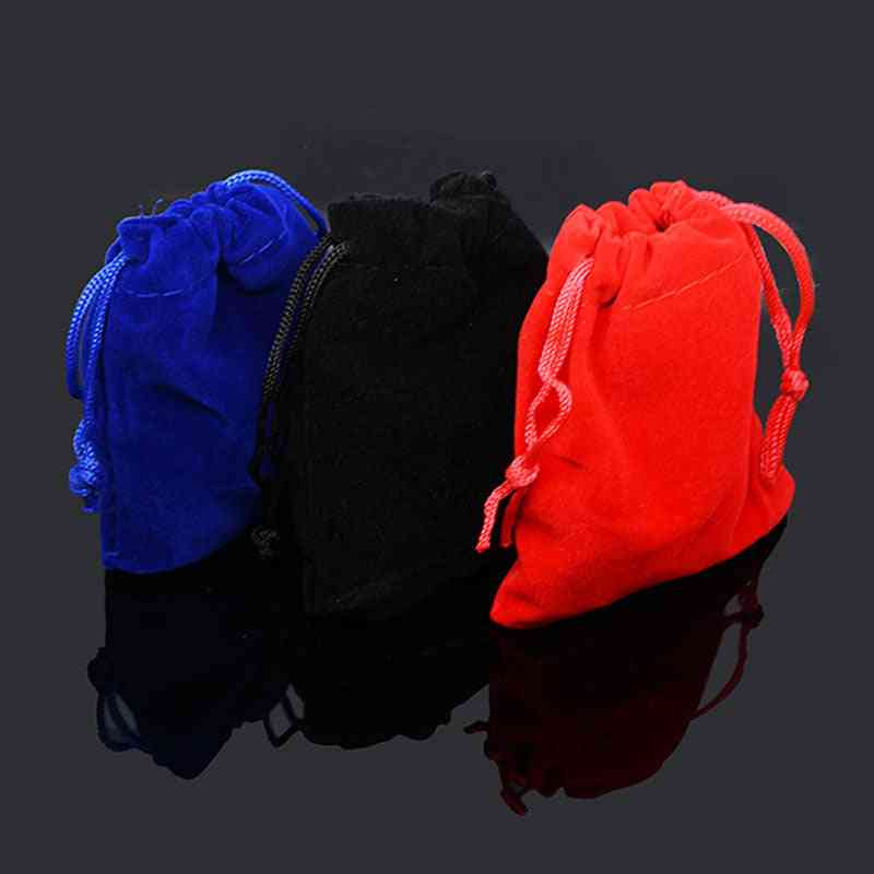 Jewelry Packaging Pouches, Display Drawstring Packagings Bag