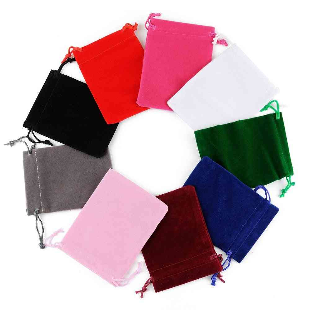 Drawstrings Pouches, Small Jewelry, Display Packing, Velvet Bags