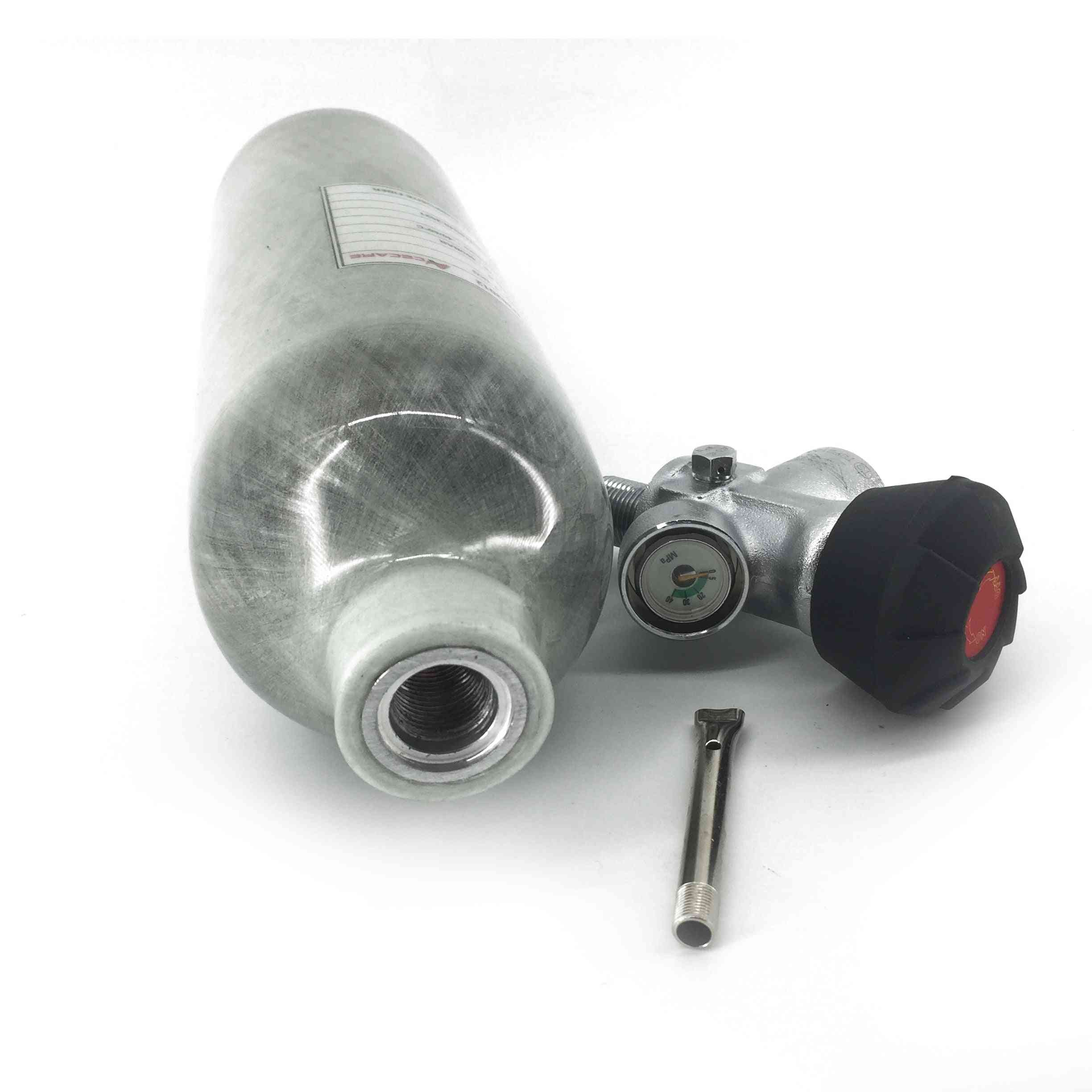 Ac3011 Paintball Tank Pcp Carbon Fiber Cylinder For Hunting Airforce With Valve