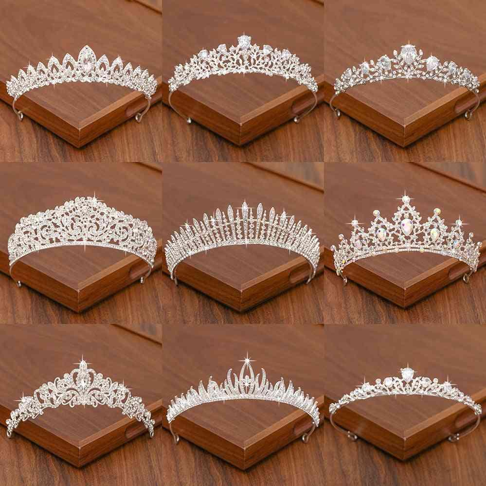 Bridal Tiara Hair Crown Wedding  Accessories