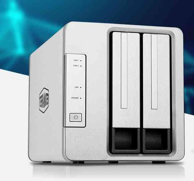 F2-210 Nas 2-bay Quad Core Multimedia Personal Cloud Storage