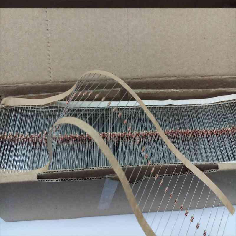 30 Kinds 1/6w Resistance 5% Carbon Film Resistor Pack Assorted Kit