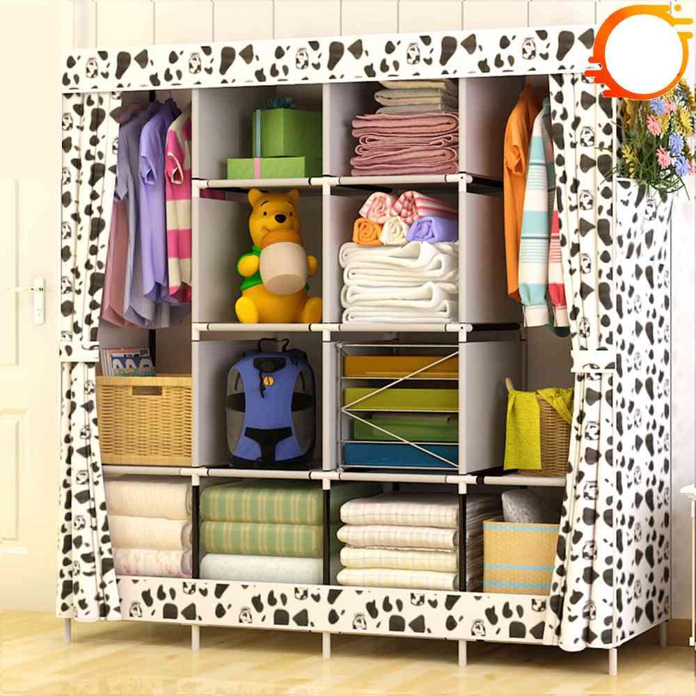 Modern Simple, Wardrobe Fabric Folding, Cloth Storage Cabinet