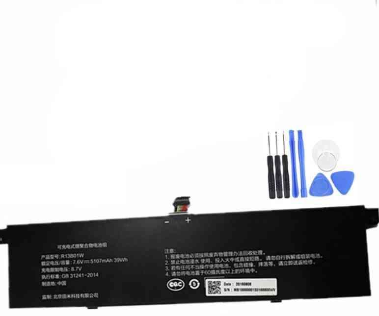 7xinbox/ 7.6v/ 5107mah/5230mah, R13b02w R13b01w- Laptop Battery