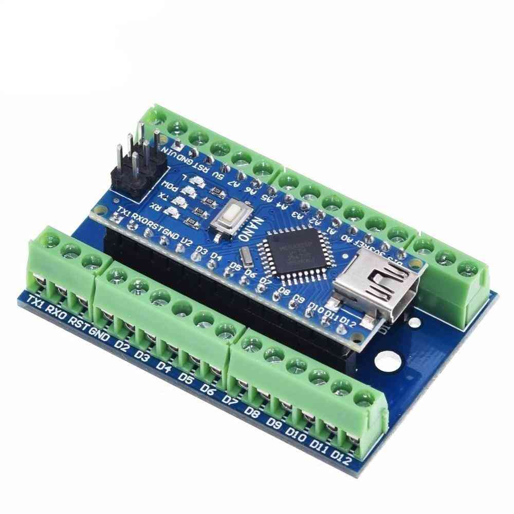 V3.0- Controller Terminal Adapter Board, Simple Extension Plate For Arduino Avr