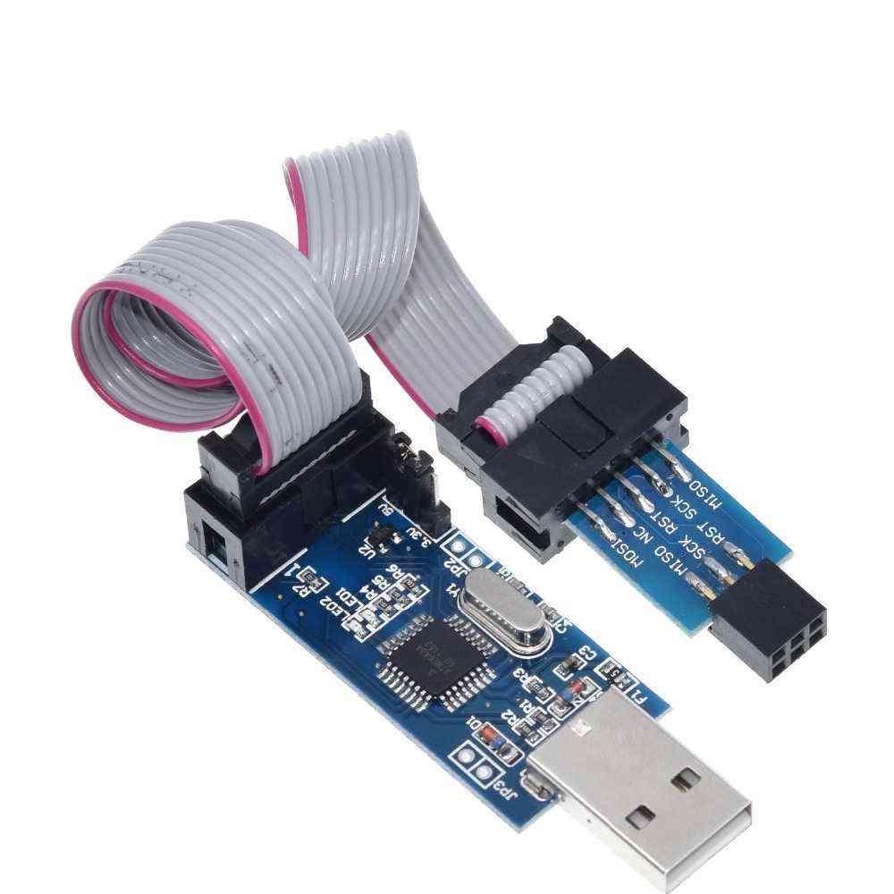 It Usbasp/usbisp- Avr Programmer Isp Usb, Asp Atmega8/ 128, Support Win7 64