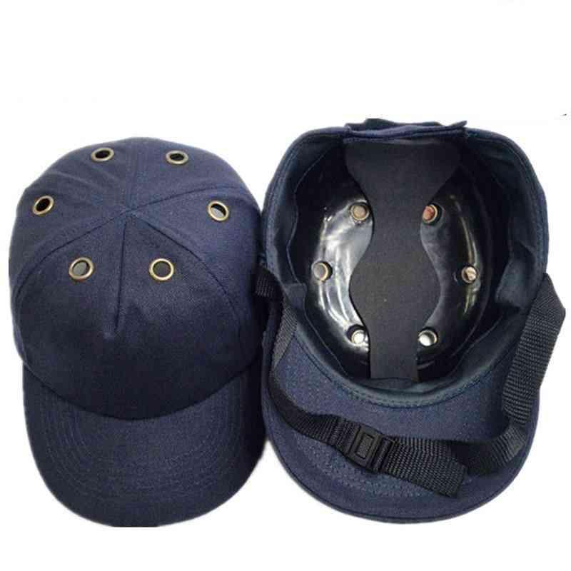 Safety Helmet Baseball, Protective Hard Wear, Head Protection, Bump Cap