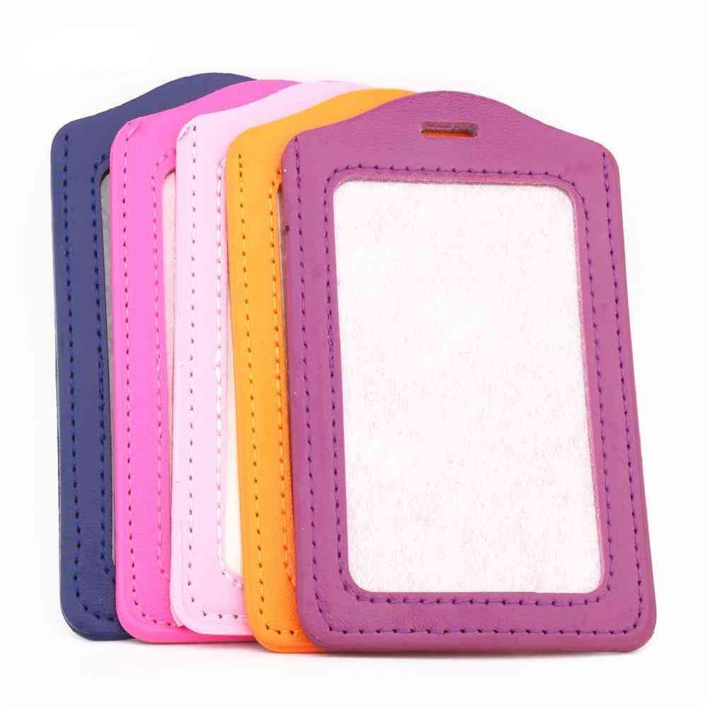 Pu Leather Material Card Sleeve Sets