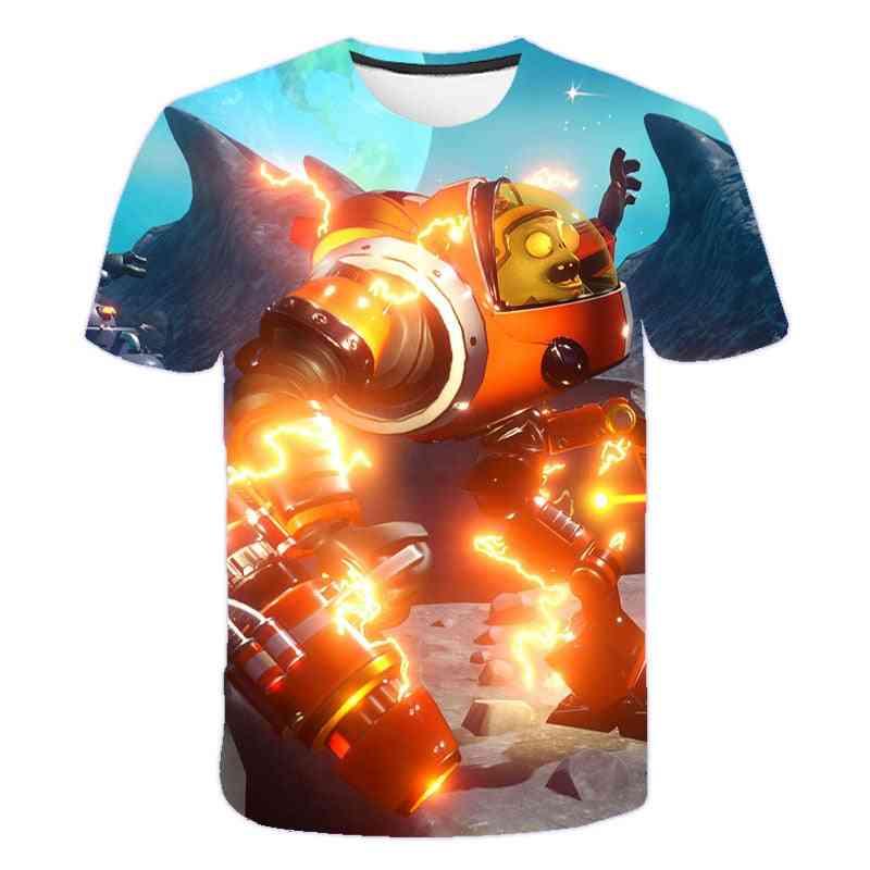 3d Printed Baby Summer T-shirt / Tops
