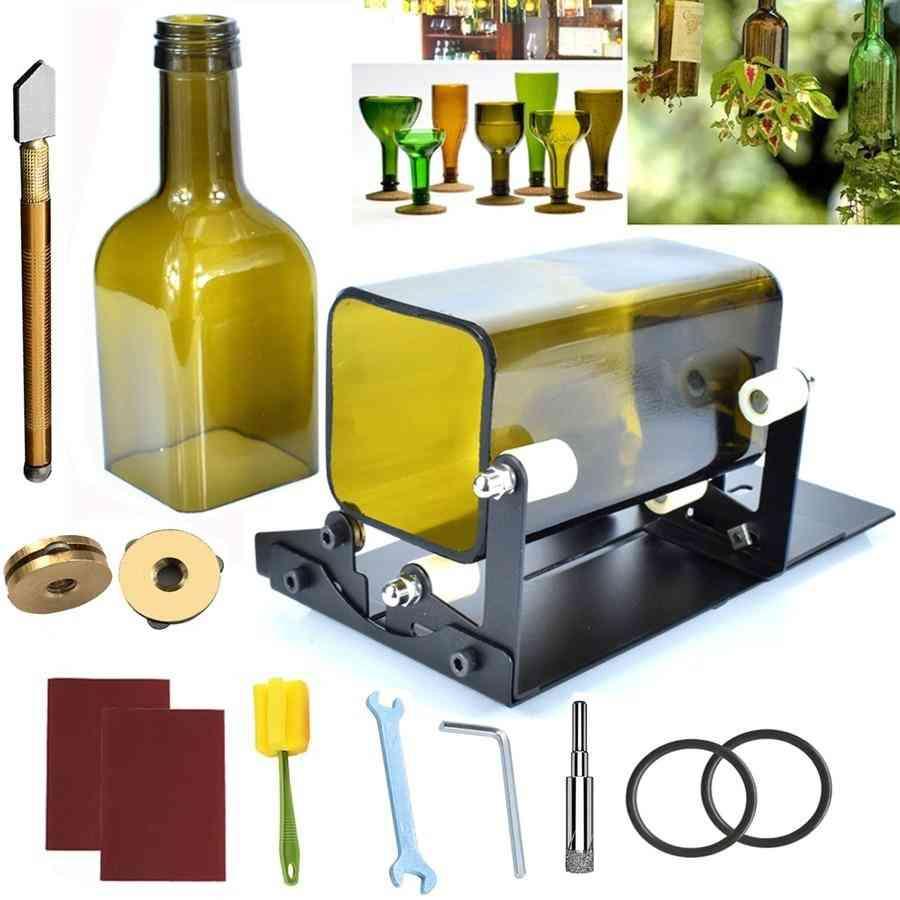 Beer Wine Jar Accurate Cutting Machine