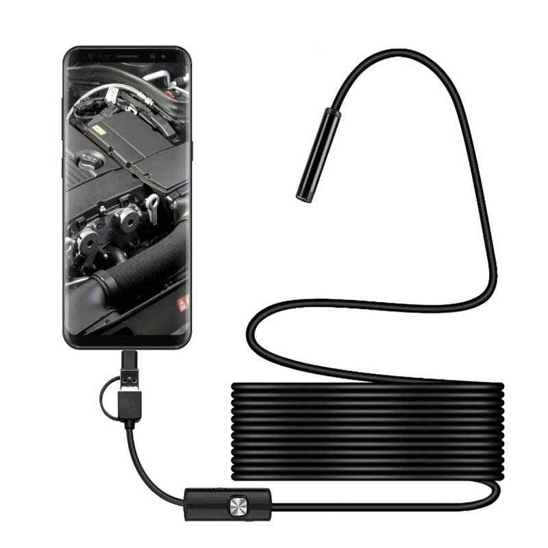 3-in-1 Hd Type-c, Mobile Computer, Industrial Tube Endoscope