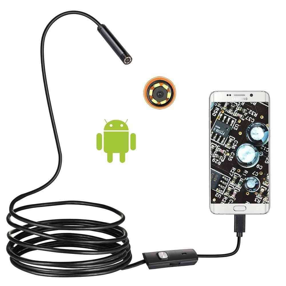 Hd Mini Camera, Endoscope With Usb Cable For Android Searching