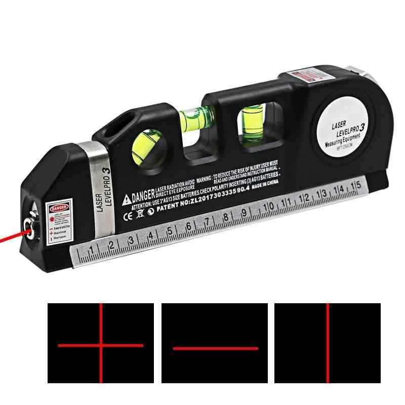 1pc Of Multipurpose Level Laser Line-measure Tape Aligner
