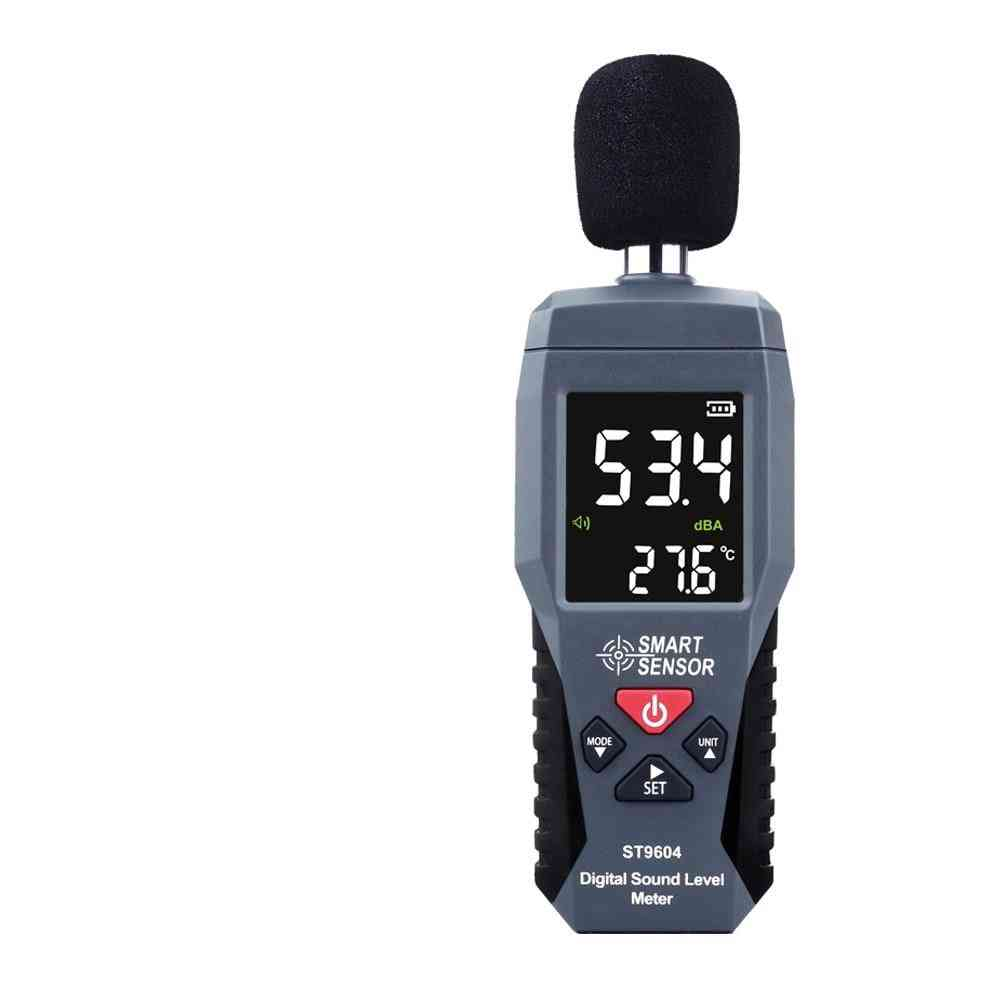 Digital Sound Level Noise Meter Measurement 30-130db Decibel Detector