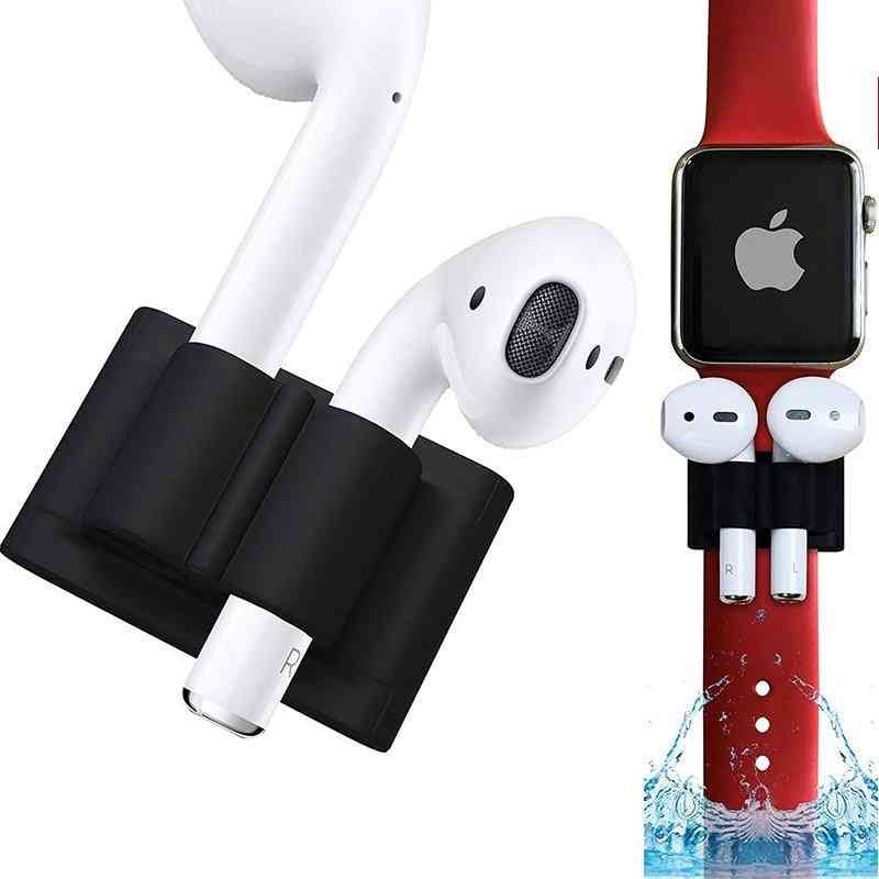 Anti-lost Wireless, Earphone Headphone, Silicone Holder Clip For Airpods
