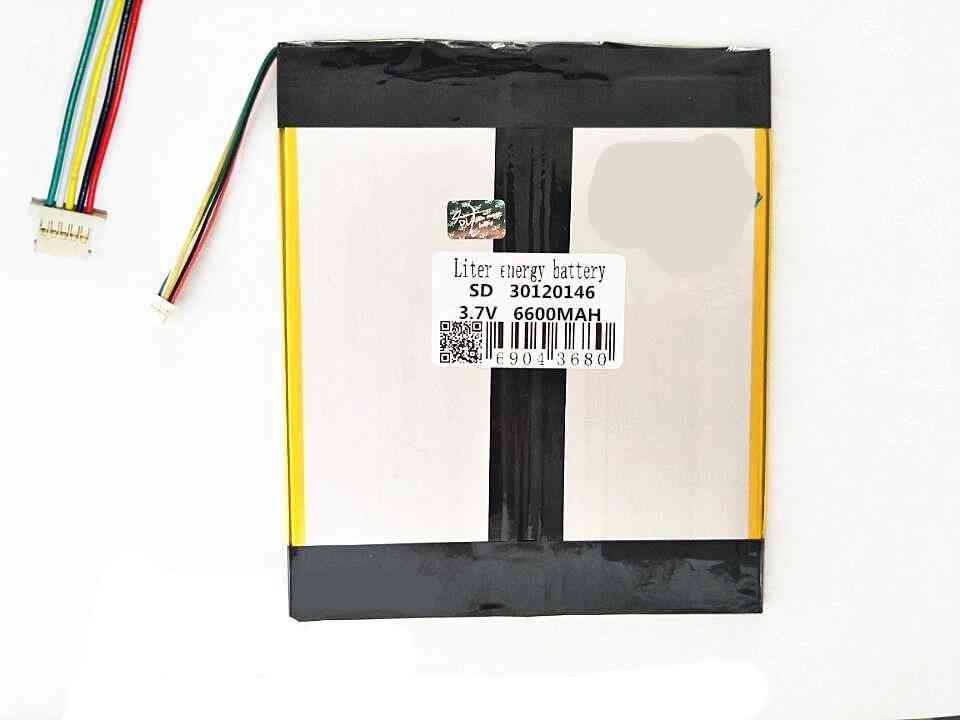 5-thread Lithium Polymer, Recorder Rechargeable, Tablet Battery