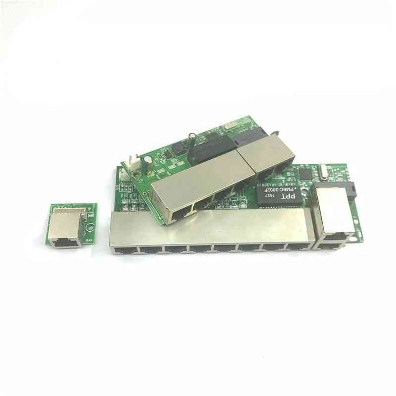 12v/24v/48v Poe Powered Switch, 100 Mbps Poe-poort