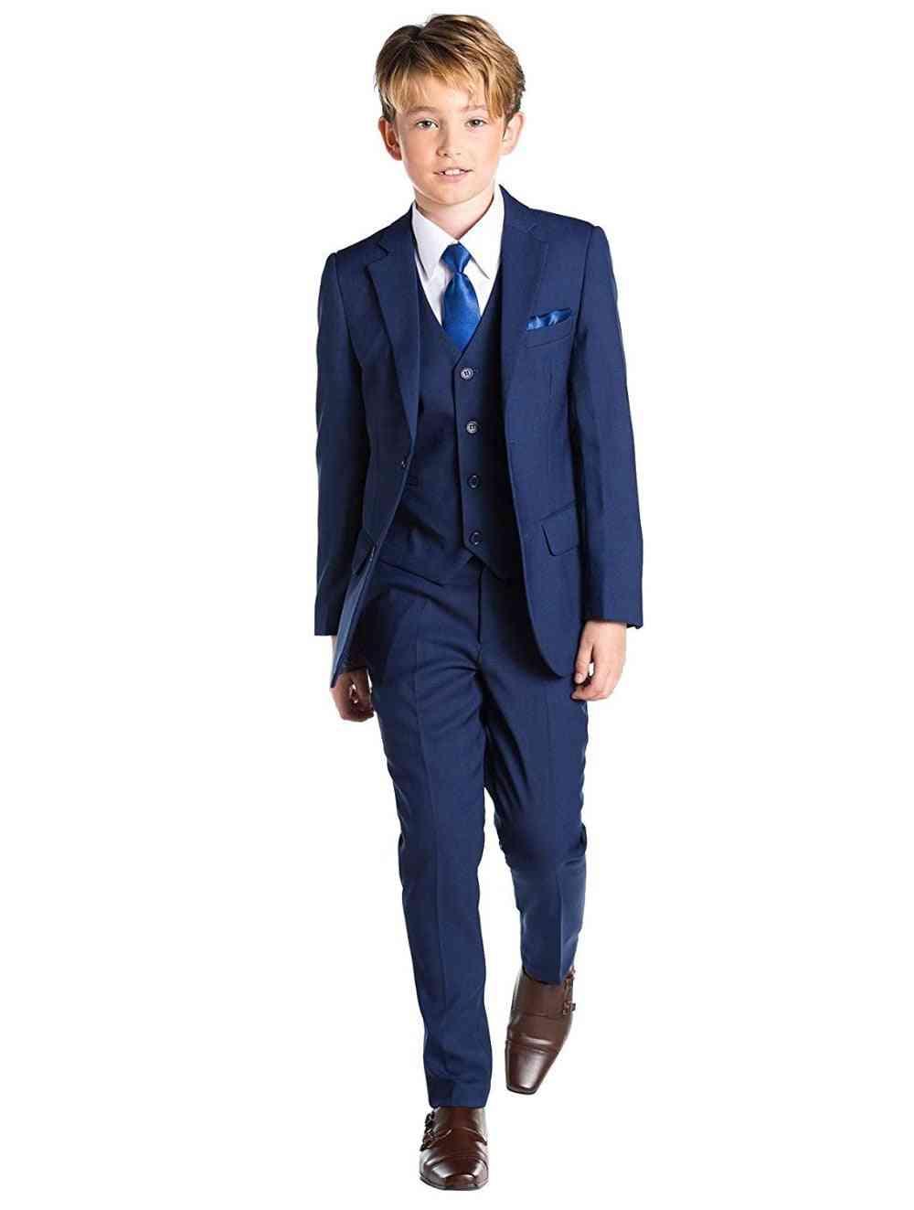 Boy's Suits, Tuxedo Fist Communication Party Wear