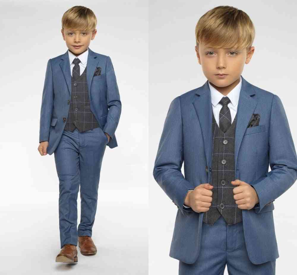 Boys Attire Peaked Lapel Suits