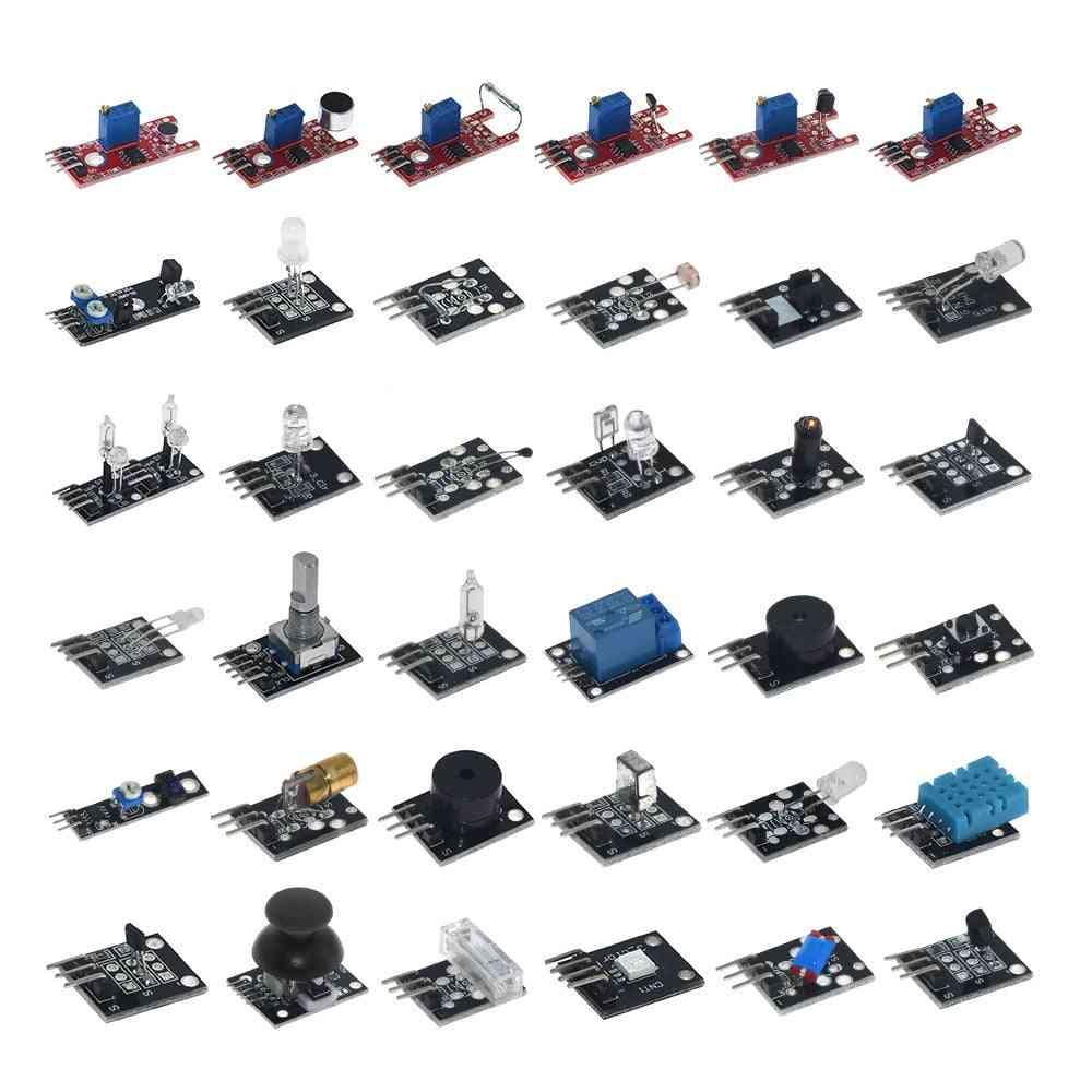 Sensor Kit, Ultimate For Arduino Raspberry Pi Beginner Learning Module Suit