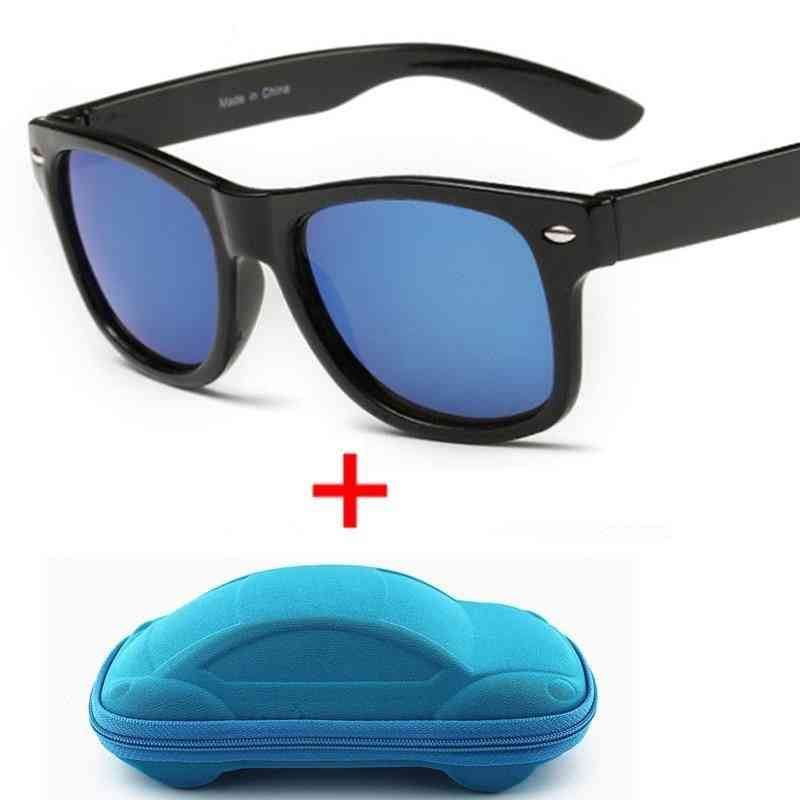 Anti-uv, Coating Lens, Protection Sunglasses With Case For And
