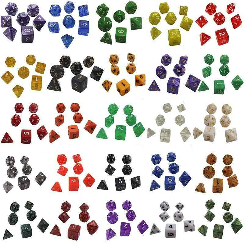 Dice Set For Board Game