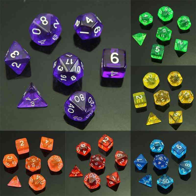 7 Sided Dice Board Game