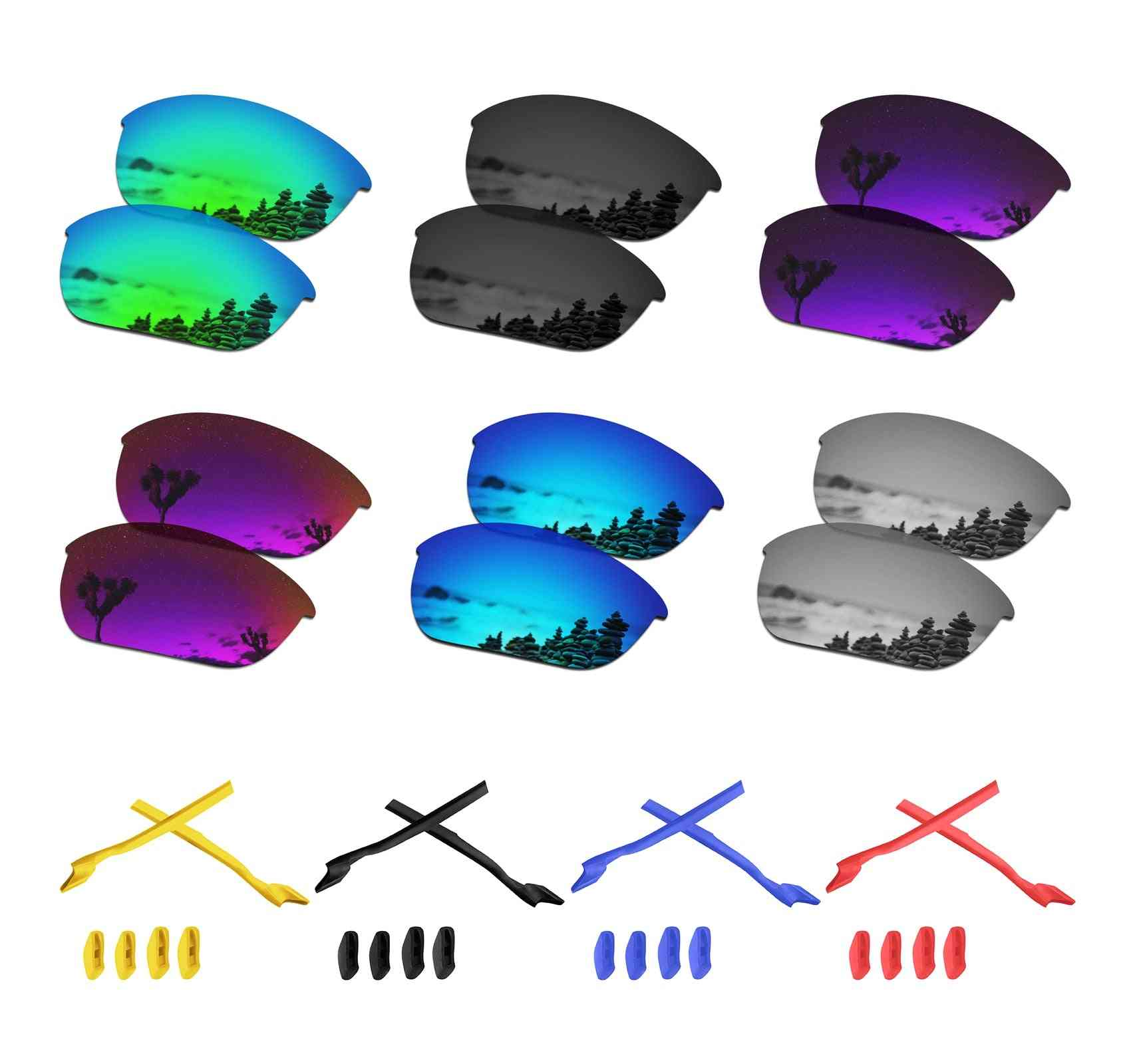 Polarized Replacement Lenses For Half Jacket, 2.0 Sunglasses