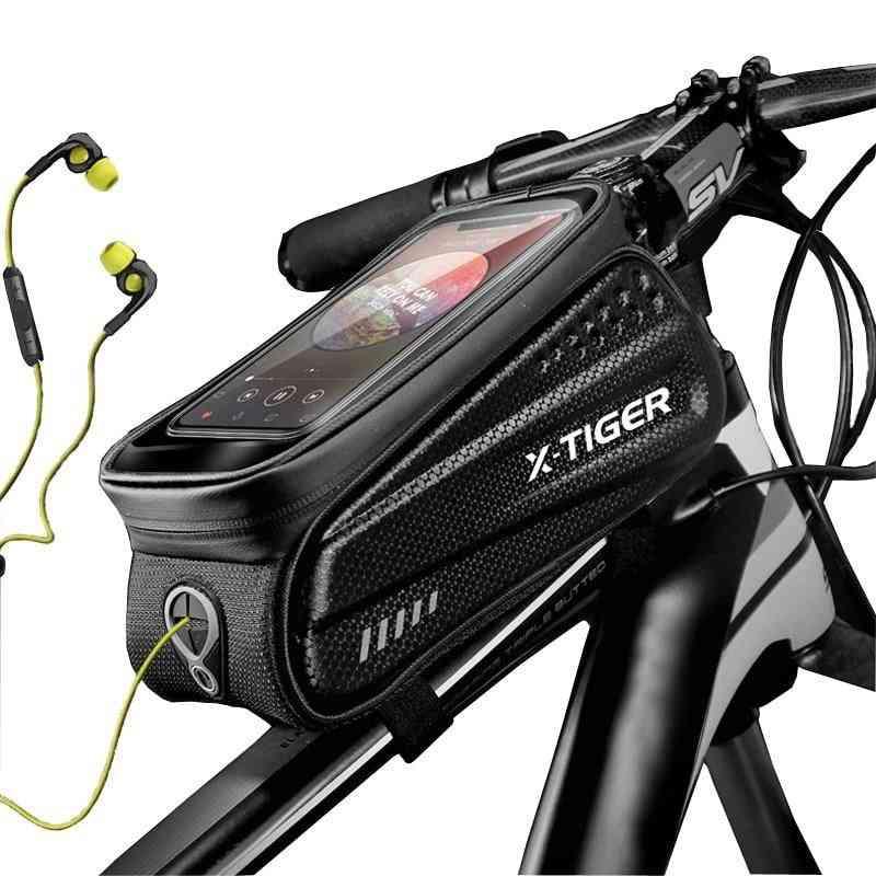 Rainproof- Touchscreen Frame Phone Case, Cycling Bags